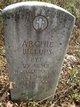 Profile photo: Pvt Archie Billups