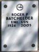 Profile photo:  Roger P Batchelder