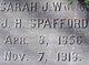 Sarah Jane <I>Kilbourn</I> Spafford