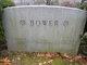 Pvt William M. Bower