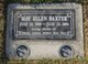 May Ellen <I>Lathlean</I> Baxter