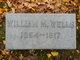 Pvt William Moore Wells, Sr
