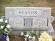 Ellen Louise <I>Crutcher</I> Benson