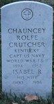 CPT Chauncey Rolfe Crutcher
