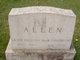 Grace <I>Prosser</I> Allen
