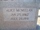 Alice <I>McMillan</I> Ayres