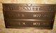 Bertie Marie <I>Scott</I> Bennett