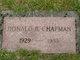 Donald B Chapman