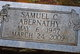 Profile photo:  Samuel C Abernathy