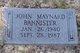 John Maynard Bannister