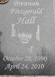 Profile photo:  Brennan Fitzgerald Hall