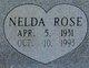 "Nelda Rose ""Queenie"" <I>Finley</I> Ainsworth"