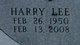Harry Lee Ainsworth