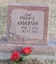 Philip E Anderson