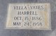 Vella <I>Yates</I> Harrell