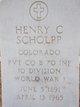 Henry Christopher Scholpp