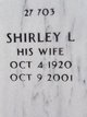 Shirley L Donnelly