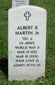 Profile photo:  Albert B Martin, JR
