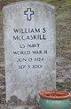 William Stephen McCaskill