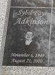 Sybil Faye Adkinson