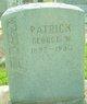 George Washington Patrick