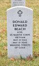 Profile photo:  Donald Edward Beach