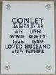 """James Donald """"Jim"""" Conley, Sr"""