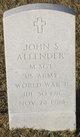 John Scott Allender, Jr