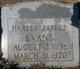 Harley Parker Evans