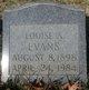 Louise Alexandria <I>McPherson</I> Evans