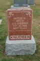 Mattie M <I>Petersen</I> Knudsen