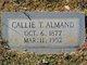 Profile photo:  Callie M. <I>Thurmond</I> Almand