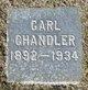 Profile photo:  Carl Chandler