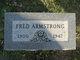 Profile photo:  Fred E Armstrong