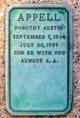 Dorothy R <I>Austin</I> Appell