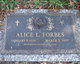 Profile photo:  Alice Lucille Forbes