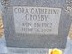 Cora Catherine Crosby
