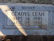 Profile photo:  Gladys Leah <I>Johnson</I> Abbott