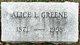 Alice Louise Greene