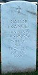 Profile photo:  Callie Frances Schuler