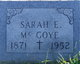 Profile photo:  Sara Elizabeth <I>O'Neill</I> McGoye