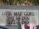 Effie May Gore