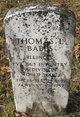 Profile photo:  Thomas L. Babbs