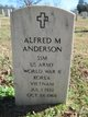 Alfred M Anderson