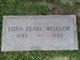 Edna Pearl <I>Hulen</I> Wisenor