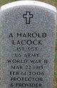 Profile photo:  A Harold Lacock