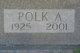 Profile photo:  Polk A. Adams