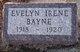 Evelyn Irene Bayne