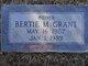 Bertie M <I>Thompson</I> Grant