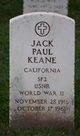 "Profile photo:  Albert Paul ""Jack"" Keane, Jr"